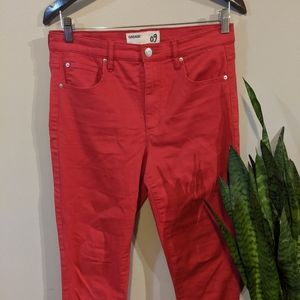 🌈4/$18🌈 Garage High-Rise Red Skinny
